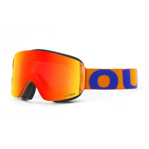 Katana Blue orange Red mci goggle