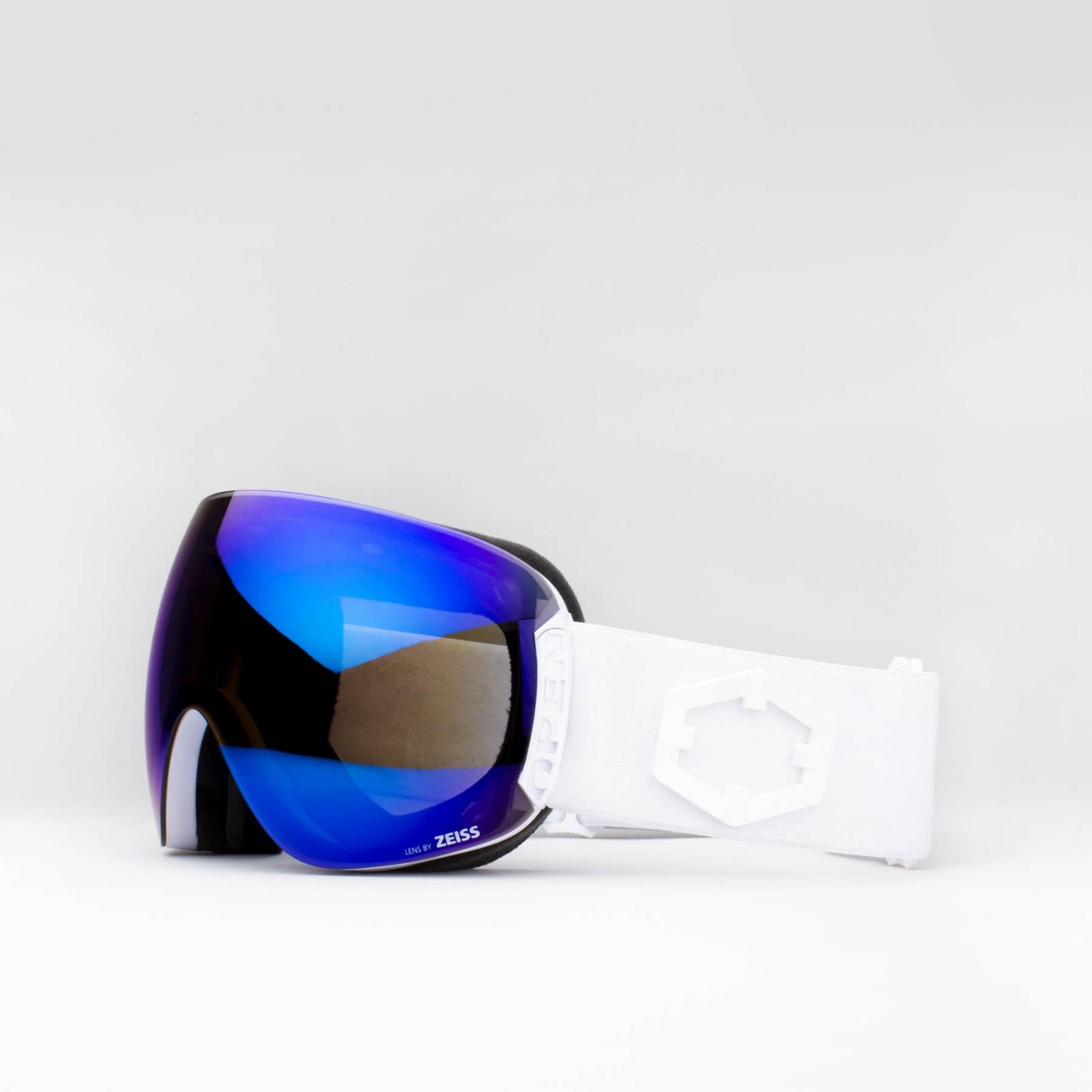 Open White Blue MCI goggle