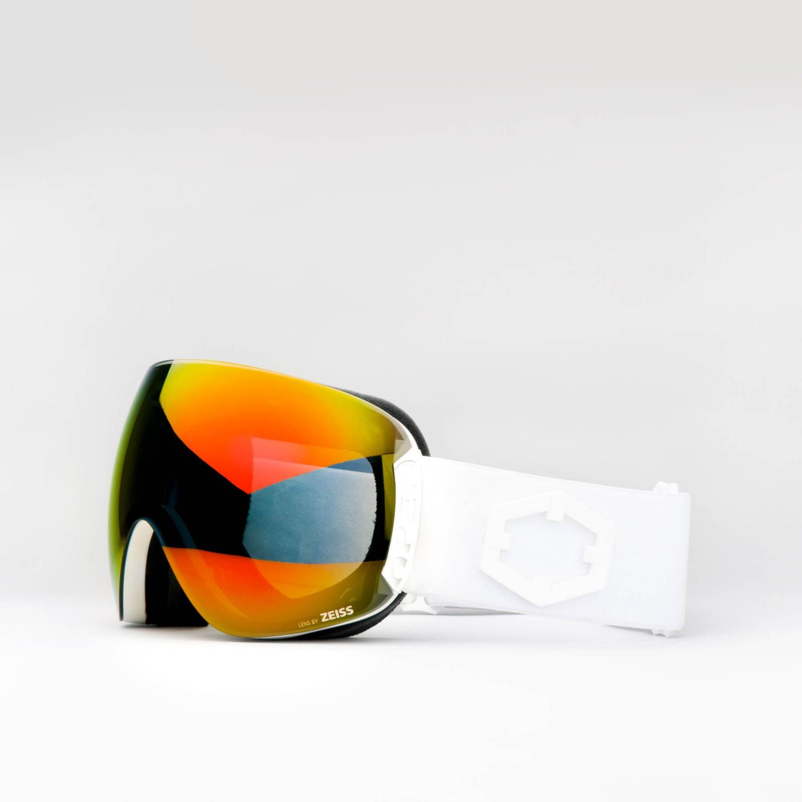 Open White Red MCI goggle