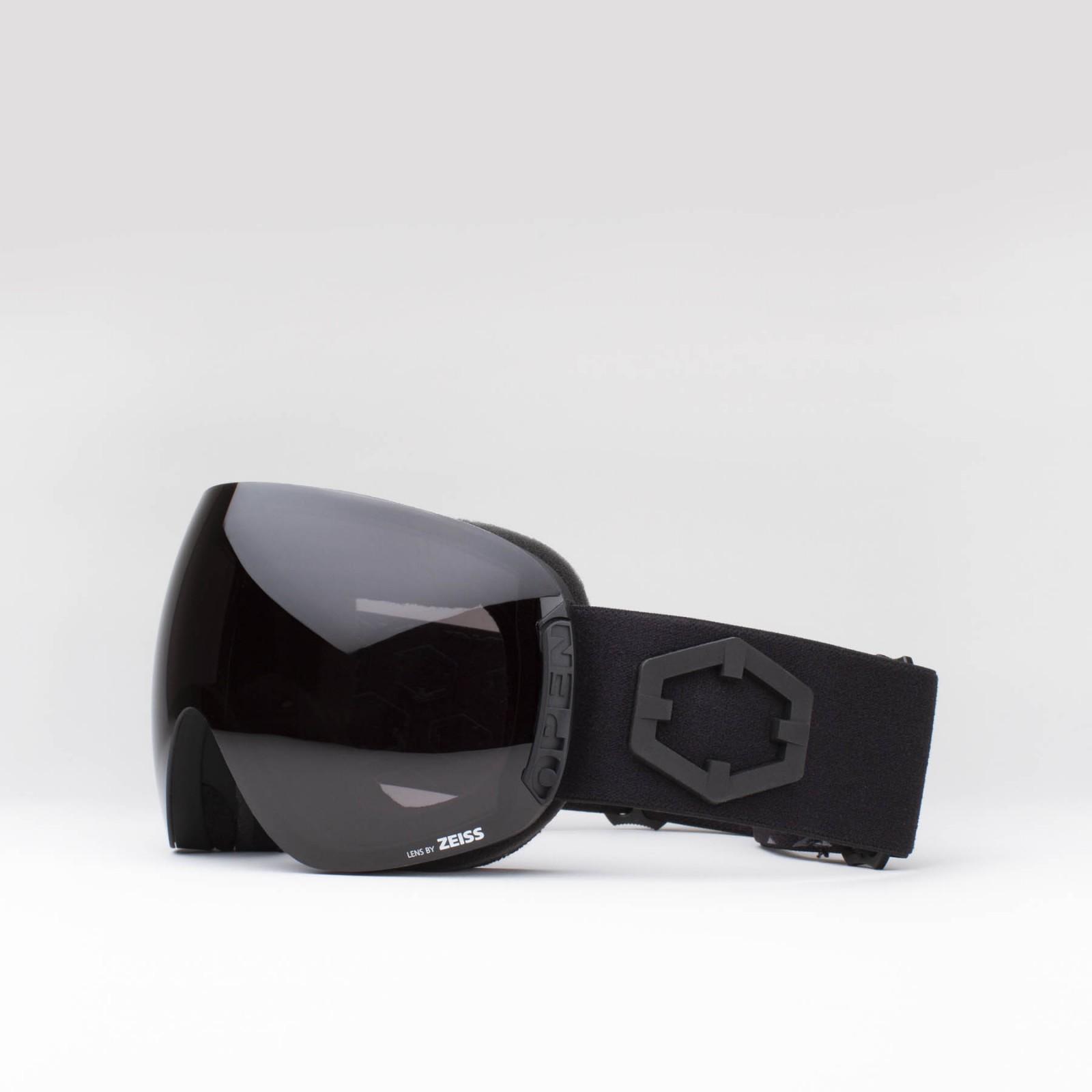 Open Black Smoke goggle