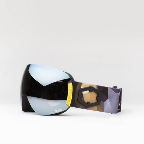 Open Origami Silver goggle