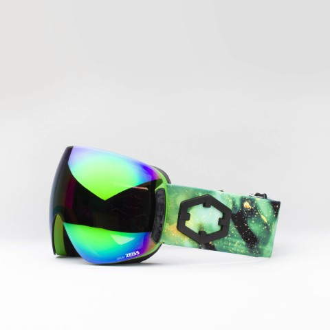 Maschera Open Venom Green MCI