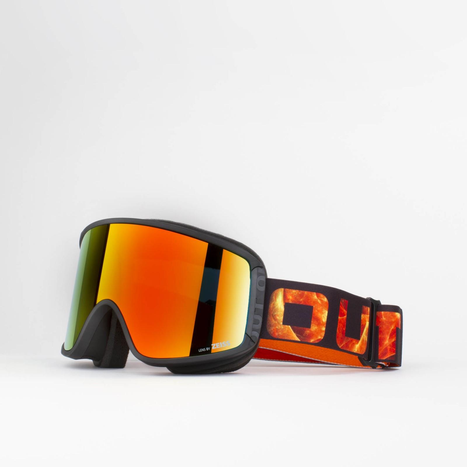 Shift Vulcano Red MCI goggle