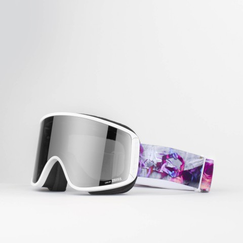 Shift Rocks n roses Silver goggle