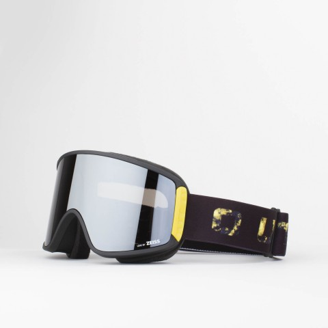 Shift Goldburst Silver goggle