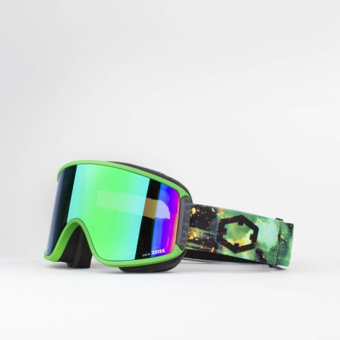 Shift Venom Green MCI goggle