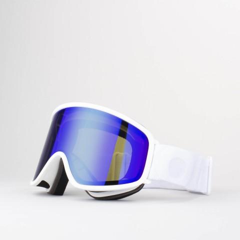 Maschera Flat White Blue MCI