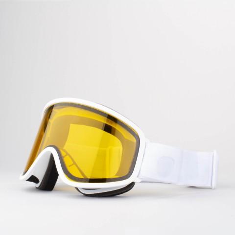 Flat White Persimmon goggle