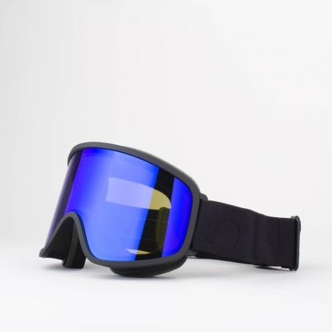Flat Black Blue MCI goggle