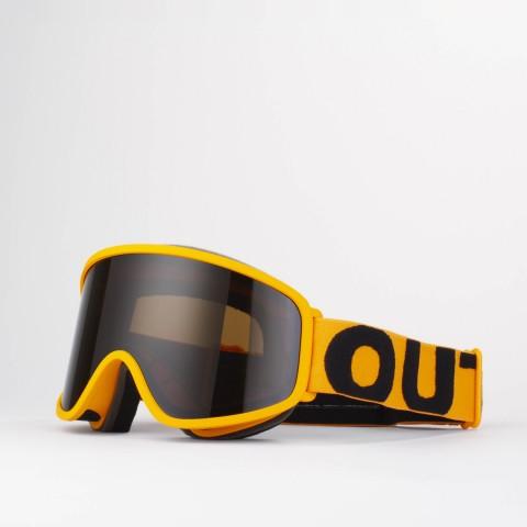 Flat Orange Smoke goggle