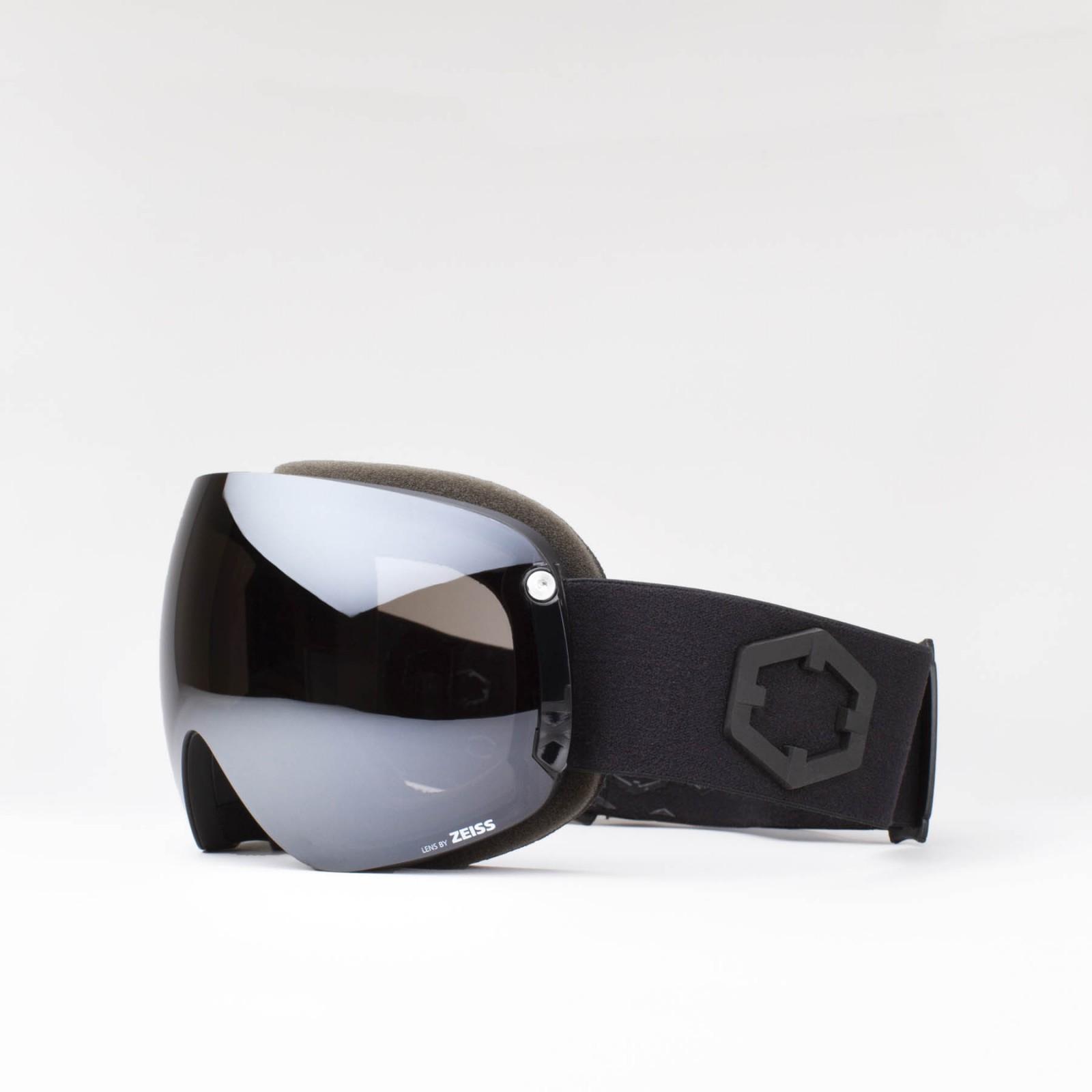 Open XL Black Silver goggle