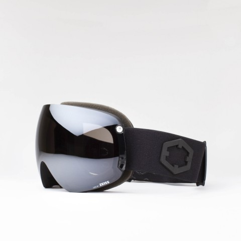 Open XL Black Silver goggle