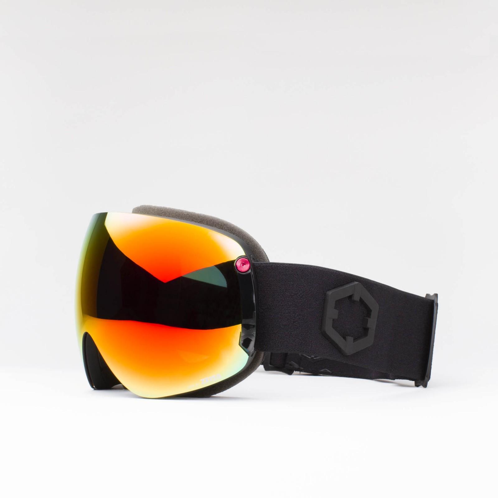 Open XL Black Red MCI goggle