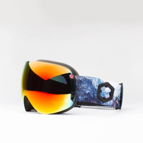 Open XL Sparks Red MCI goggle