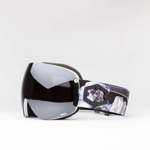 Maschera Open XL Astronaut Silver