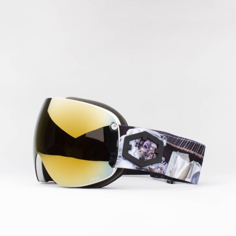 Maschera Open XL Astronaut Gold24 MCI