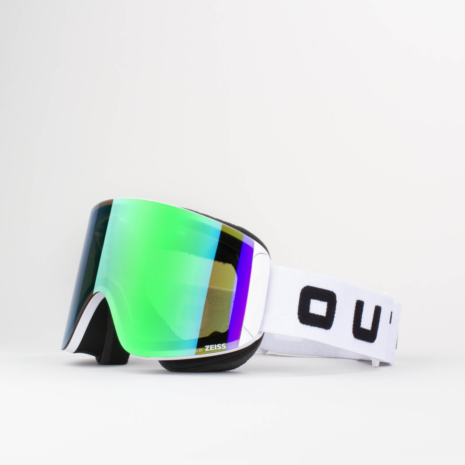 Katana White Green MCI goggle