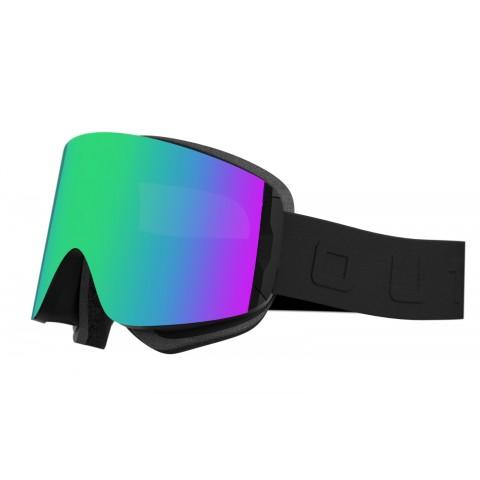 Katana Black Green MCI goggle