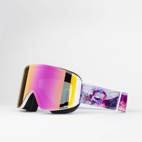 Katana Rocks n roses Violet MCI goggle