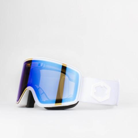 Electra White E-blue goggle