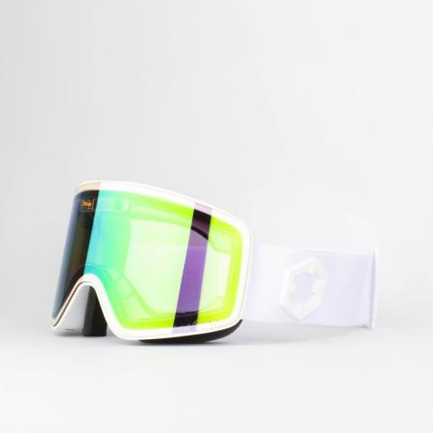Electra White E-green goggle