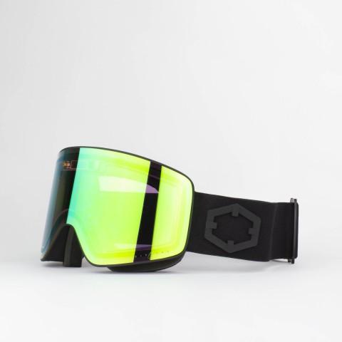 Electra Black E-green goggle
