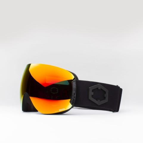 Brille Open Black Red MCI