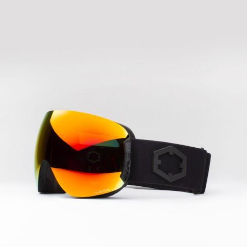 Open Black The One Fuoco goggle