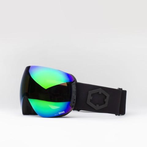Brille Open Black Green MCI