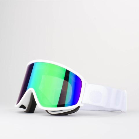 Flat White Green MCI goggle