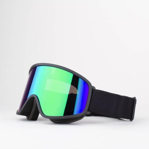 Flat Black Green MCI goggle