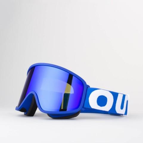Flat Blue Blue MCI goggle