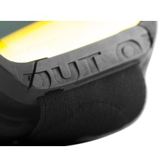 Out Of Shift ski goggle lens clousure detail