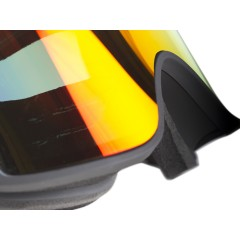 Out Of Shift ski goggle right logo detail