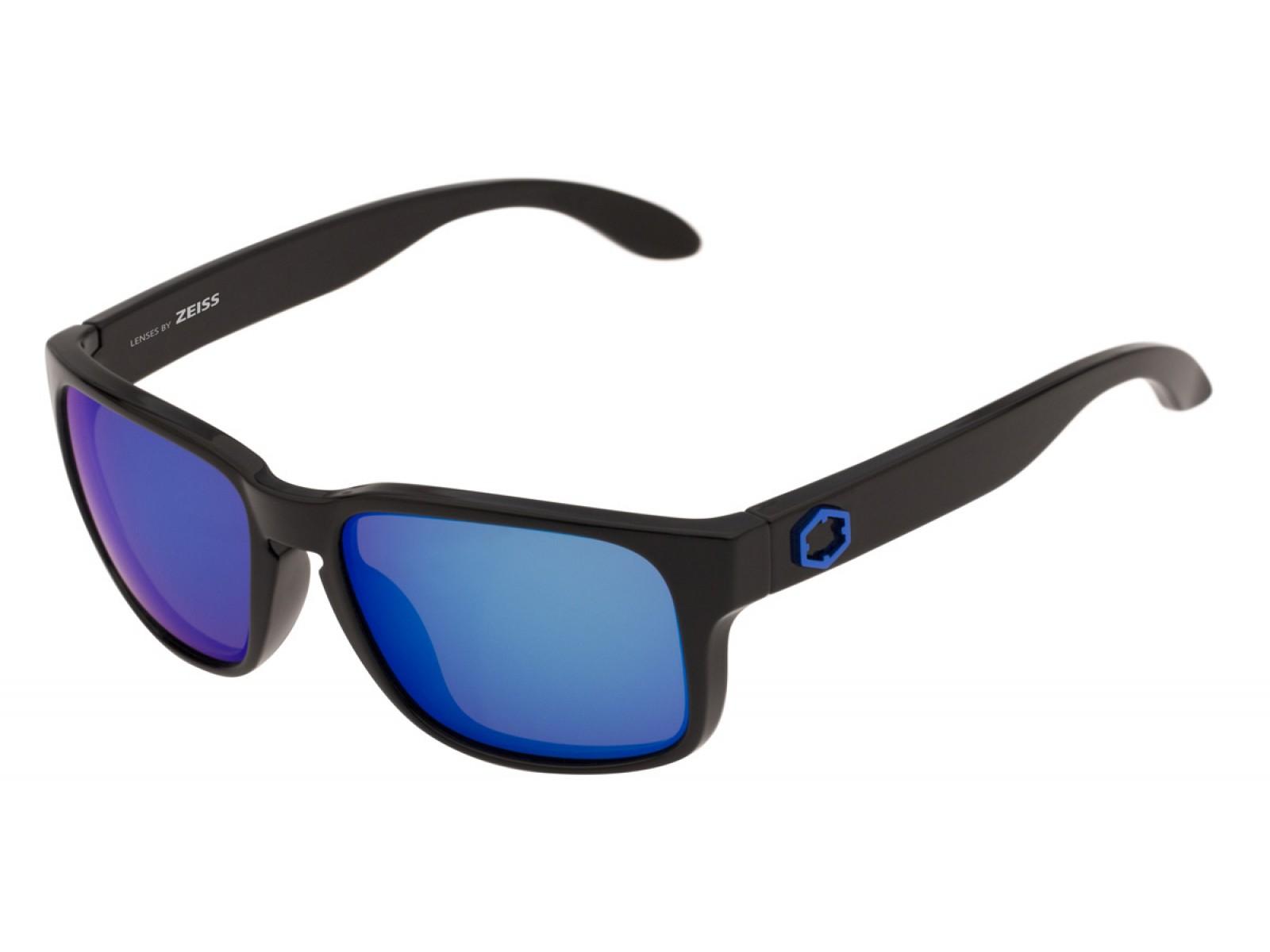 SWORDFISH COLOR GLOSSY BLACK LENSES BLUE MCI