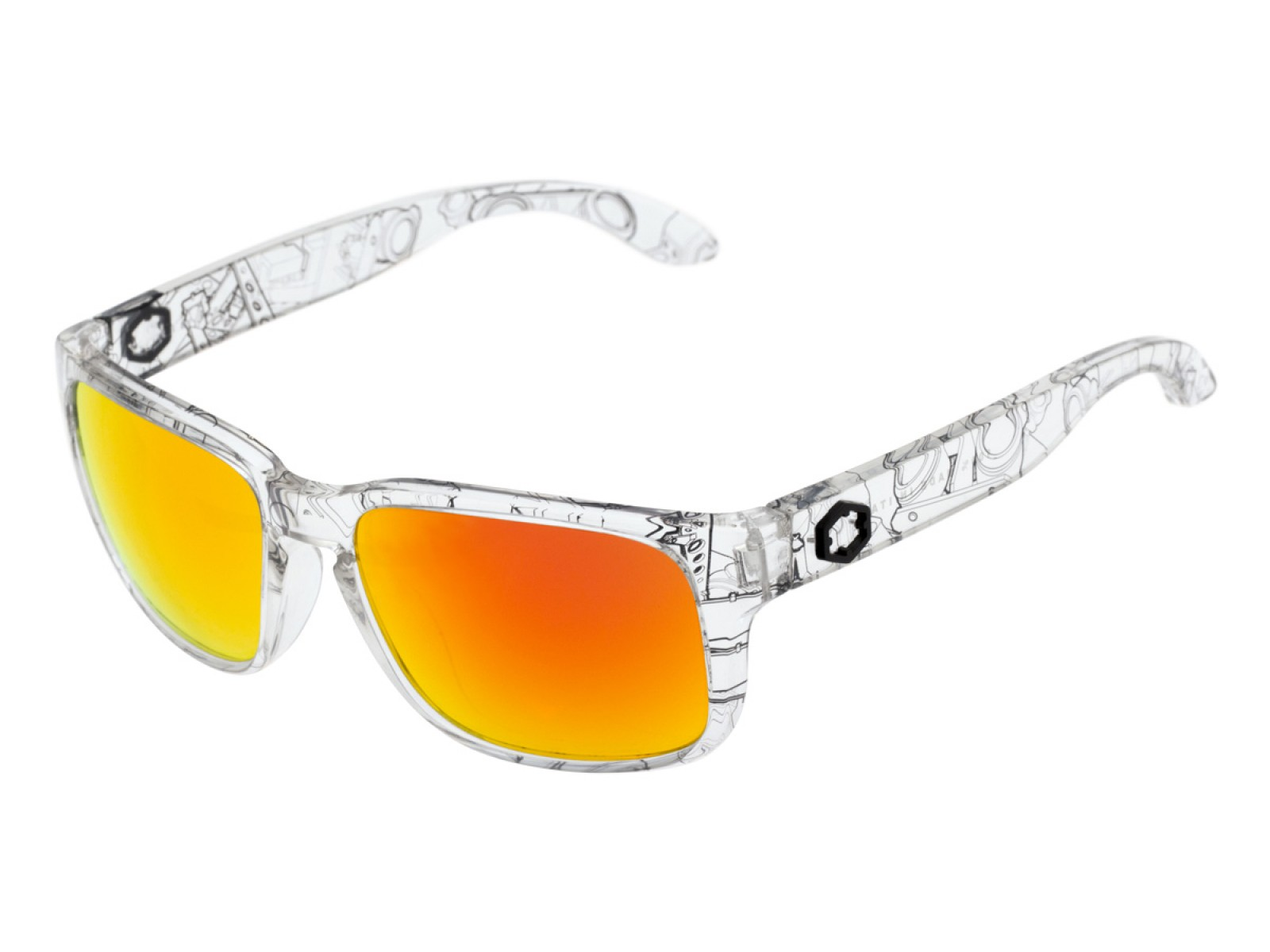 SWORDFISH COLOR CLEAR-BLACK LENSES THE ONE FUOCO