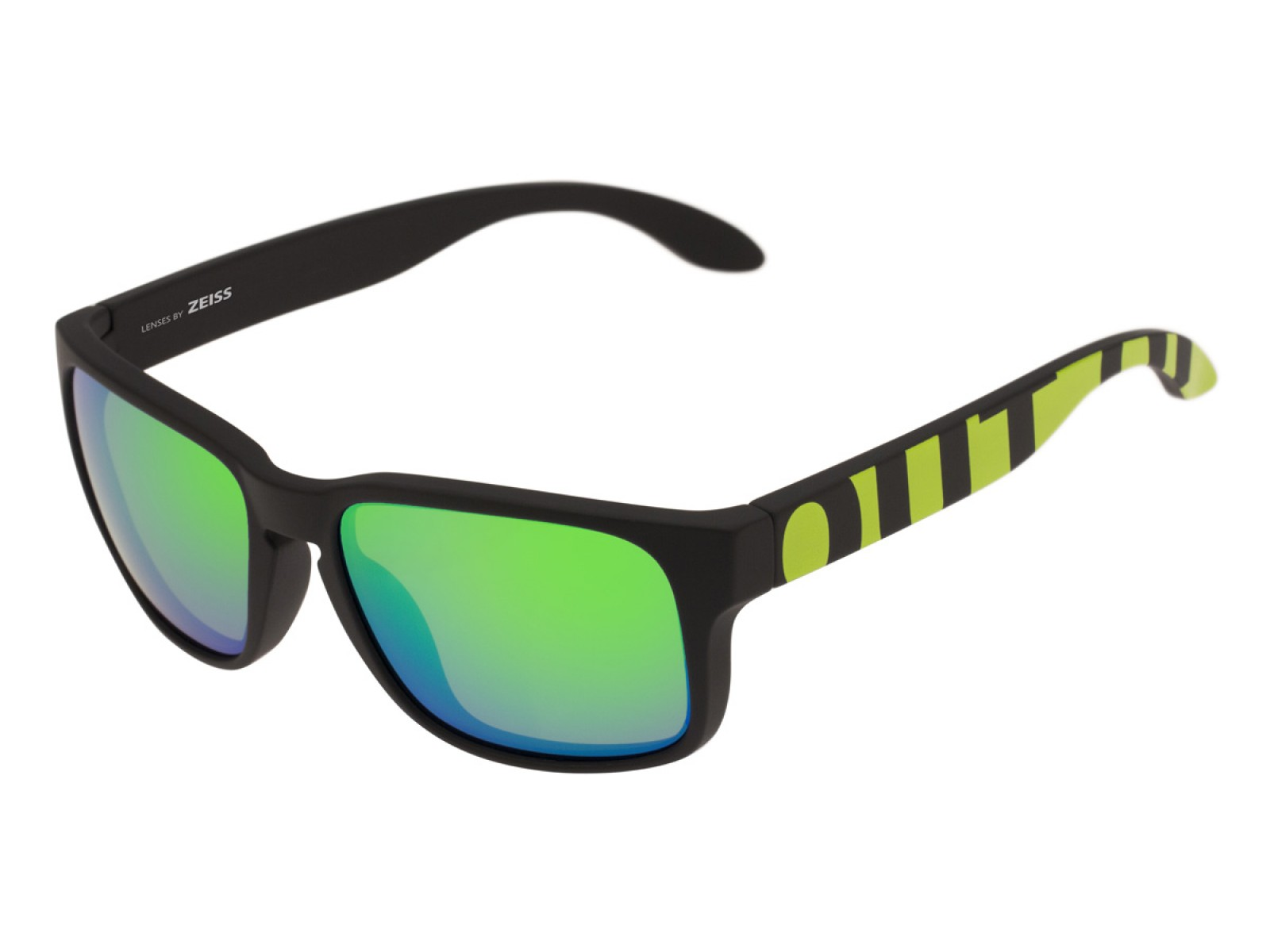 SWORDFISH COLOR BLACK-GREEN LENSES GREEN MCI
