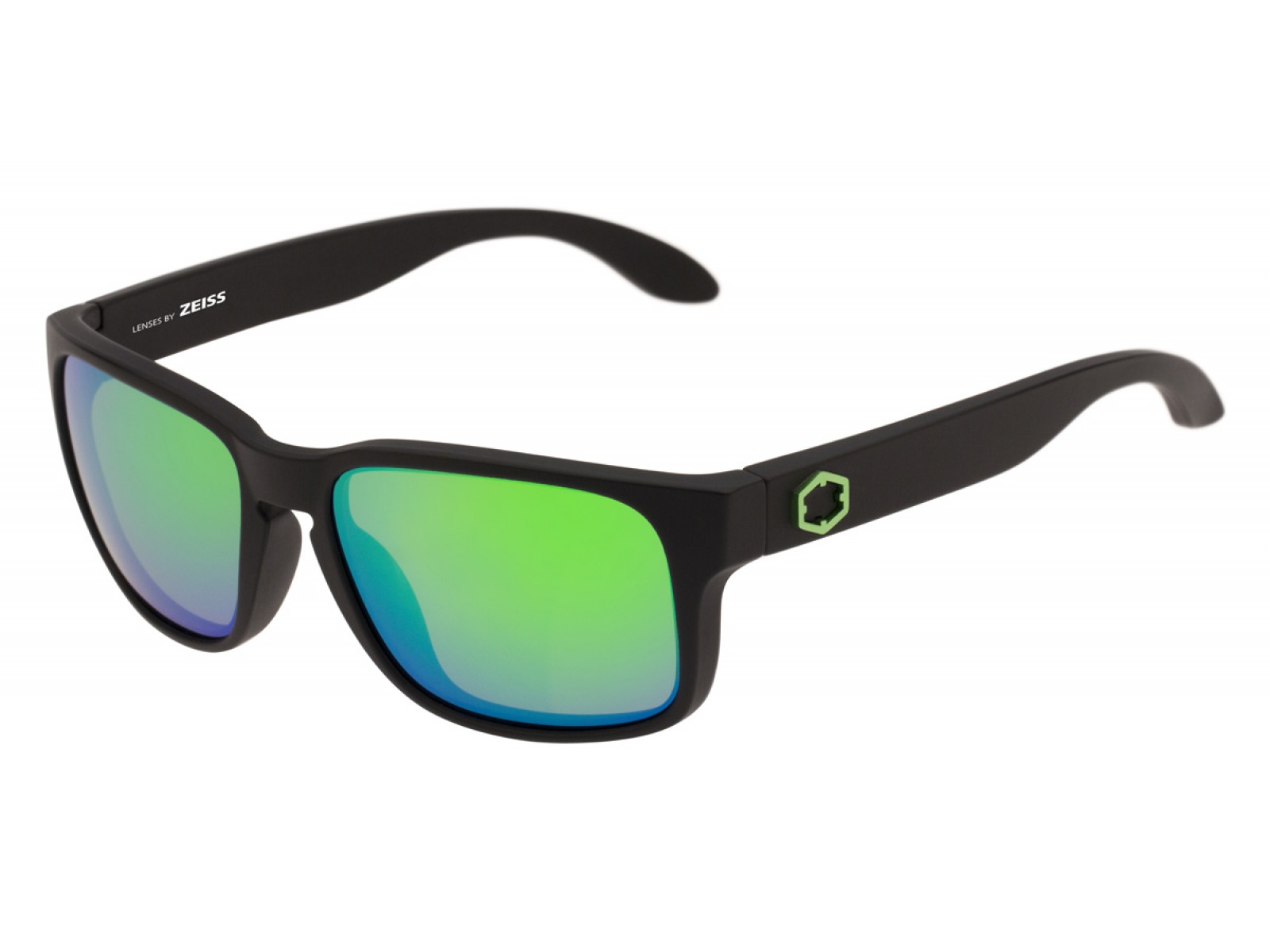 SWORDFISH COLOR MATT BLACK LENSES GREEN MCI
