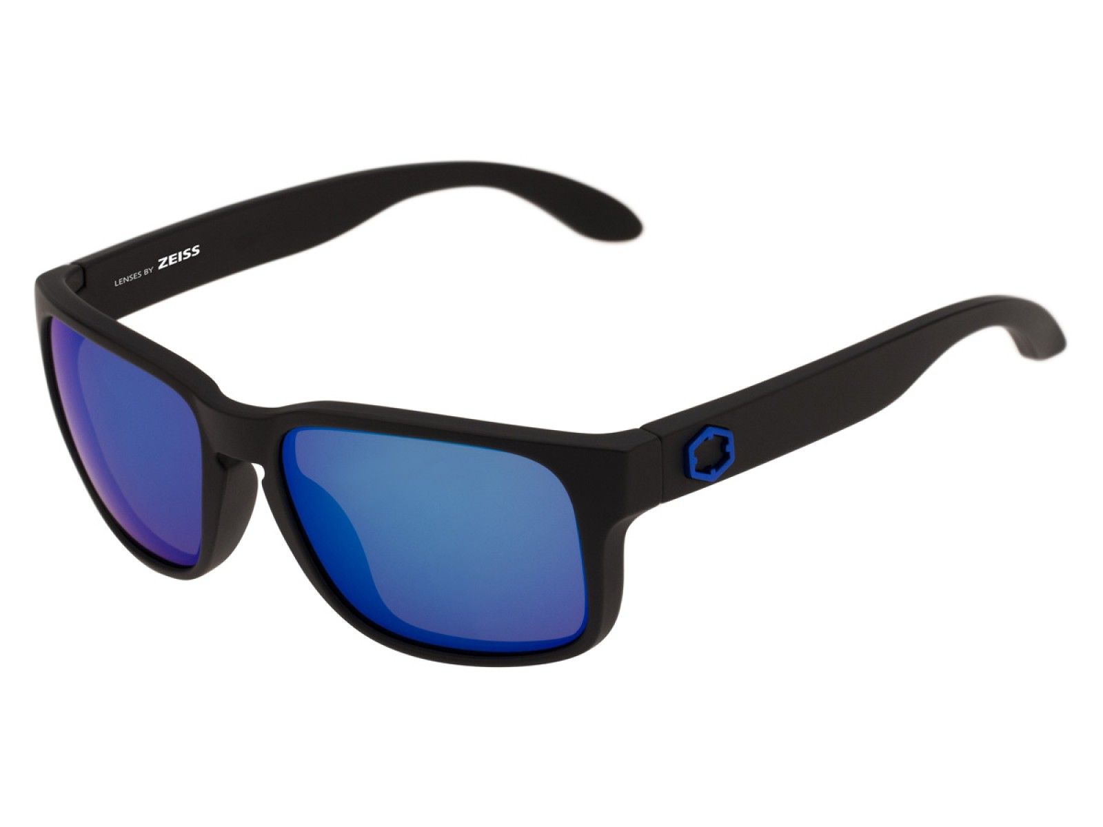 SWORDFISH COLOR MATT BLACK LENSES BLUE MCI