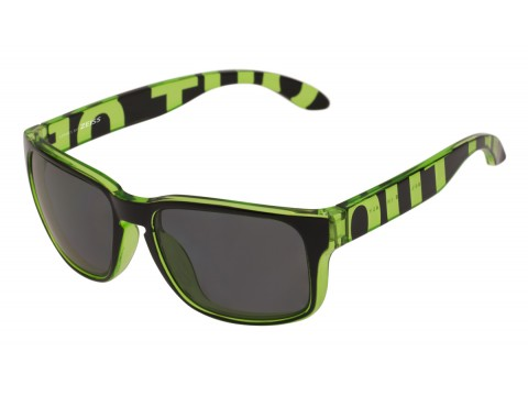 SWORDFISH COLOR GREEN TRANSPARENT LENSES SMOKE