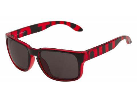 SWORDFISH COLOR RED TRANSPARENT LENSES SMOKE