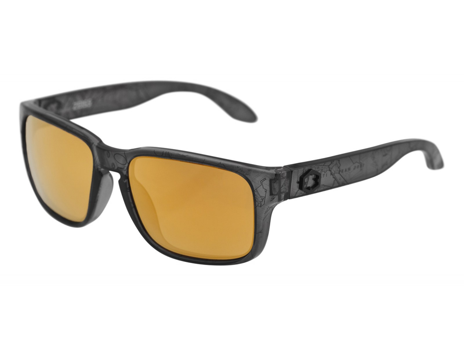 SWORDFISH COLOR BLACK BOT LENSES GOLD24 MCI