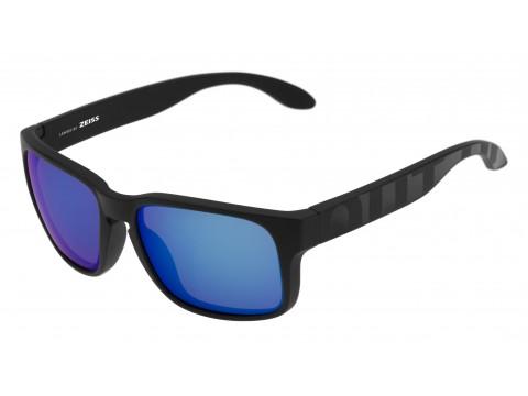 SWORDFISH COLOR BLACK MATT-GLOSSY LENSES BLUE MCI