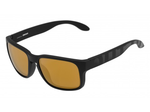 SWORDFISH COLOR BLACK MATT-GLOSSY LENSES GOLD24 MCI