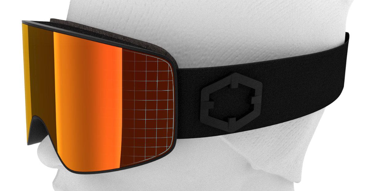 La curvatura della maschera Void aumenta il campo visivo sui lati